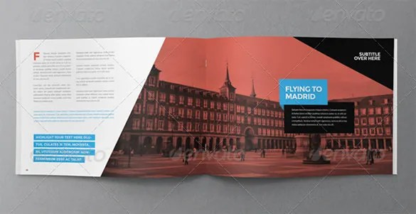 31 Modern Brochure Design Templates – PSD InDesign Illustration