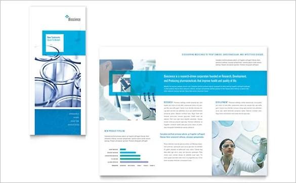 11 Drug Brochure Templates – PSD Illustrator Files Download