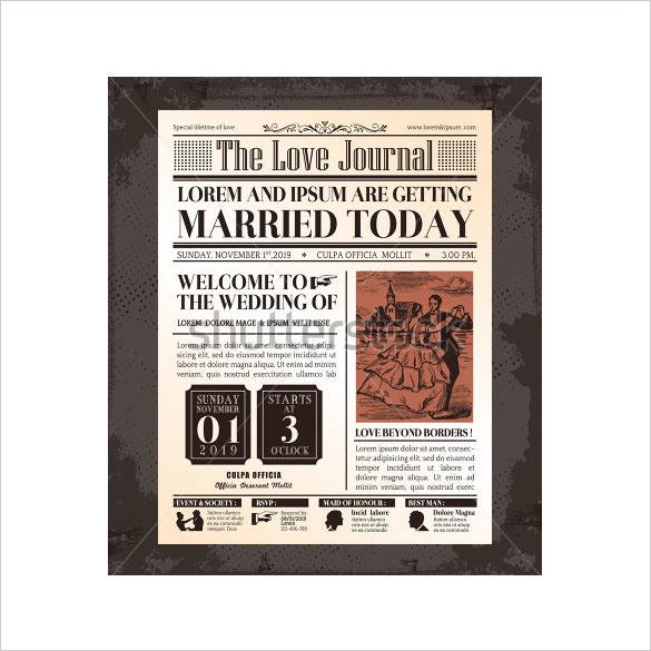 newspaper background template