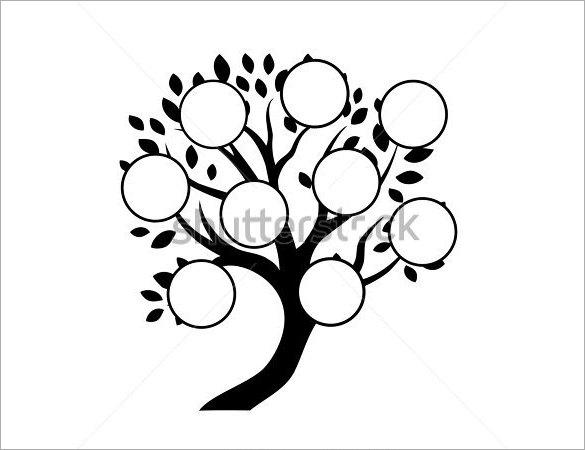 11+ Popular Editable Family Tree Templates & Designs