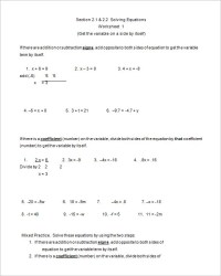 College Math Exercises Pdf - word problem worksheets 3rd ...