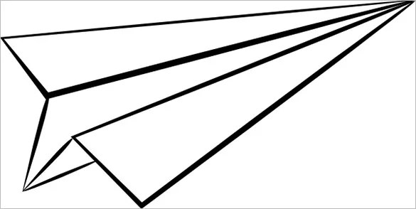 14 Paper Airplane Templates  PSD PDF  Free  Premium