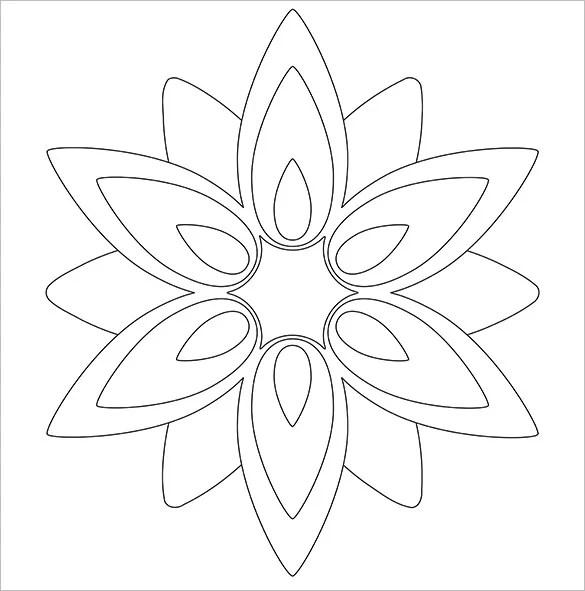 Httpsedu Apps Herokuapp Compostlotus Flower Paper Template To