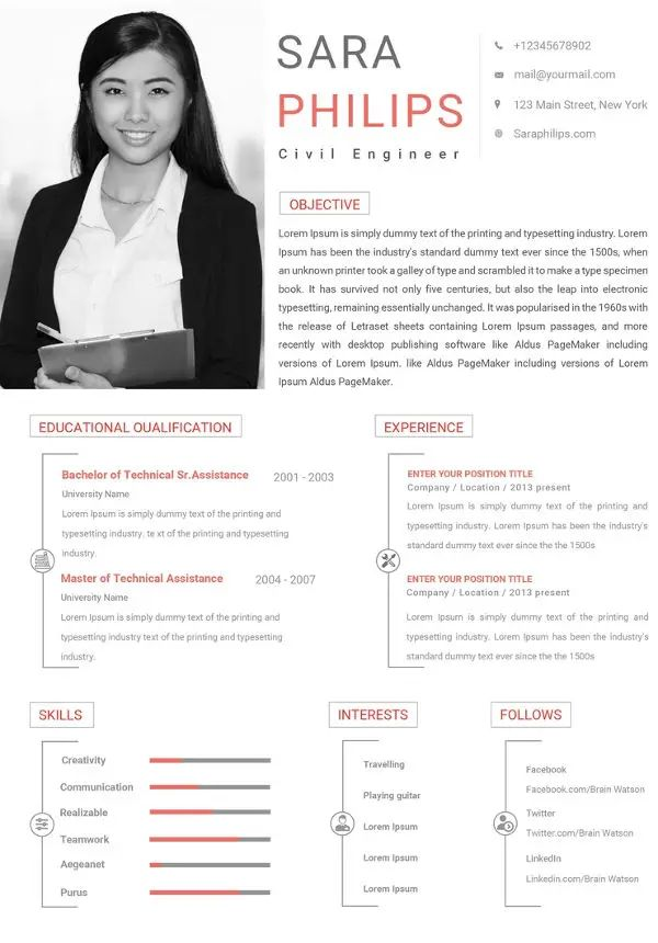 how to properly format a resume