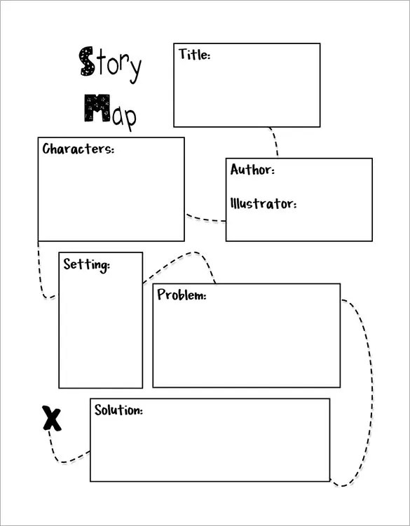 blank tree diagram graphic organizer trailer connector wiring 8+ story map templates - doc, pdf | free & premium