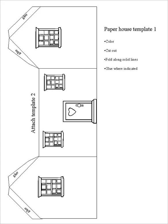 Only Minecraft Papercraft House