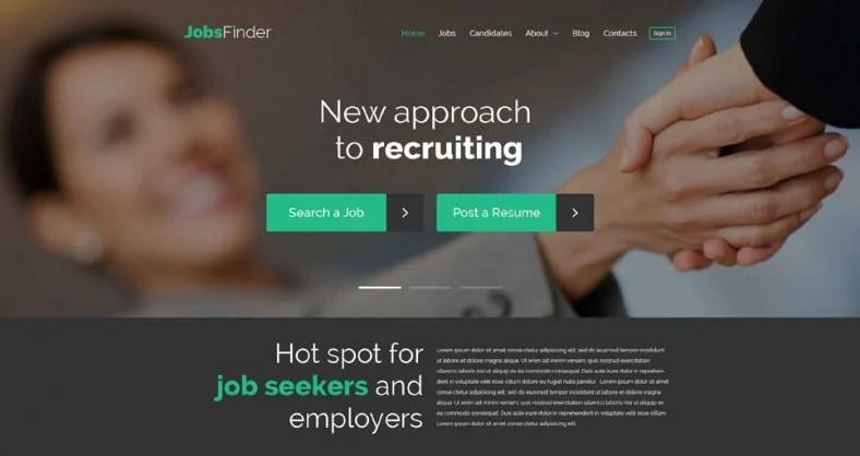 15 Career Job Portal WordPress Themes & Templates Free