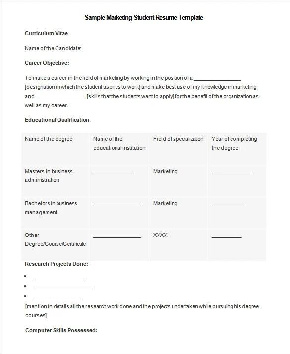 34 Microsoft Resume Templates  DOC PDF  Free  Premium Templates