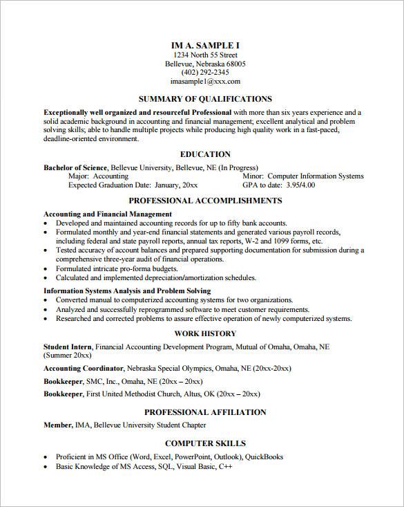 Programmer Resume Programmer Resume Template 8 Free Samples