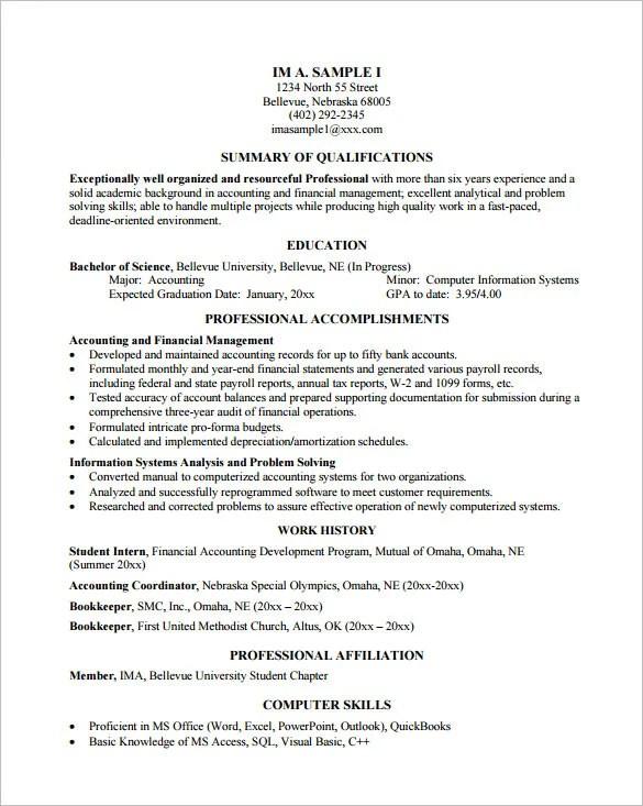Programmer Resume Programmer Resume Template 8 Free Samples  Programming Resume Examples