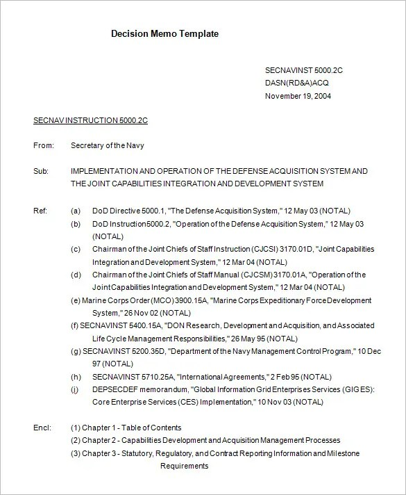 Standard memo templates for Uscg memo template