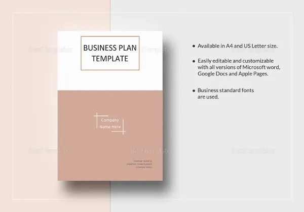 Simple Business Plan Template – 20+ Free Sample, Example Format ...