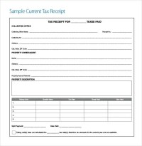 121+ Receipt Templates - DOC, Excel, AI, PDF | Free ...
