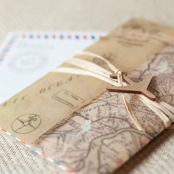Green Wedding Invitation Card Free Vector