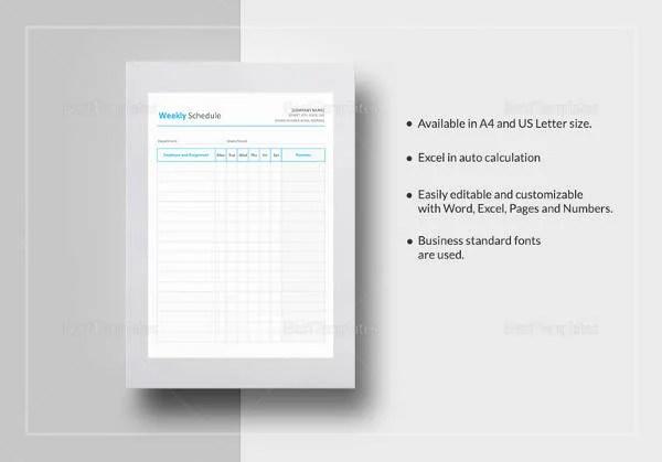 16+ Study Schedule Templates - DOC, PDF