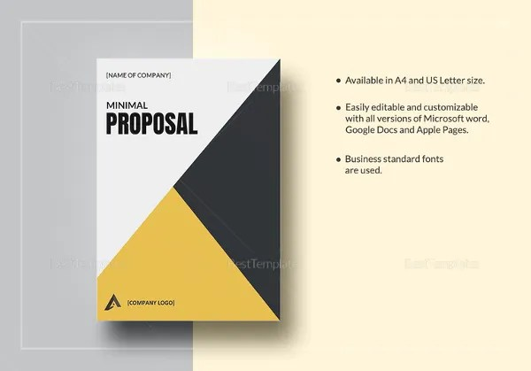 Proposal Outline Templates – 20 Free Free Word PDF