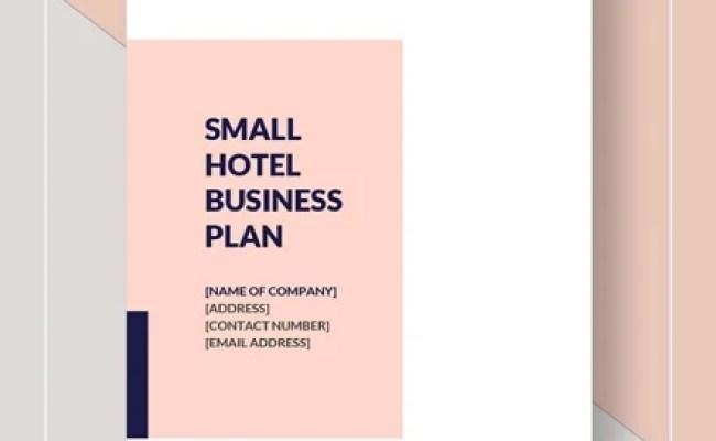 13 Hotel Business Plan Templates Pdf Google Docs Ms