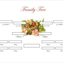 Printable Blank Family Tree Diagram Lg Microwave Oven Circuit Template - 15+ Free Word , Excel, Pdf | & Premium Templates