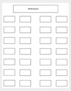 Classroom seating chart for high school free also templates  word excel pdf format download rh template
