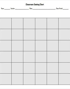 Example of classroom seating chart also template examples in pdf word excel rh