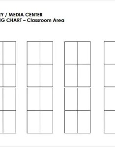 Library media center classroom seating chart also template examples in pdf word excel rh