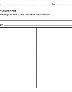3 Column T Chart Pdf Homeschoolingforfree