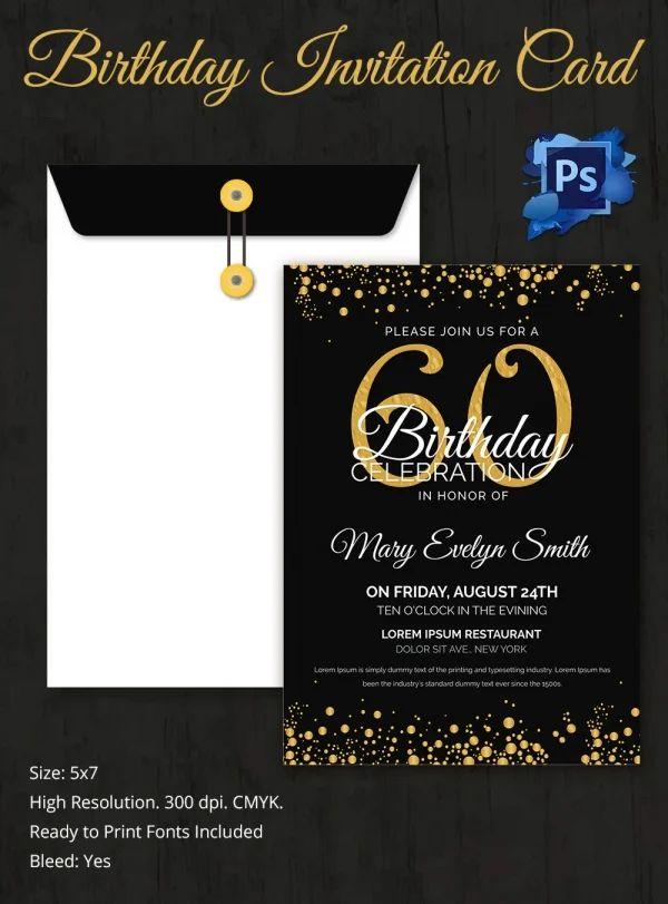 free printable 50th birthday invitations templates