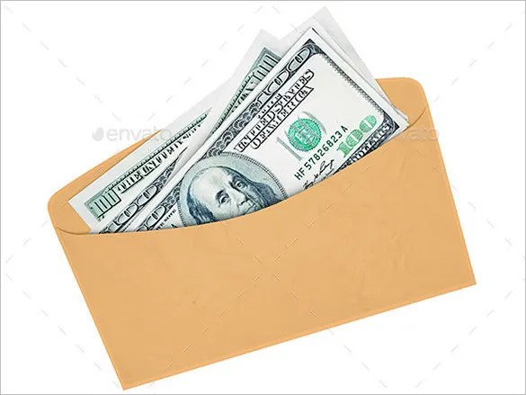 17 money envelope templates