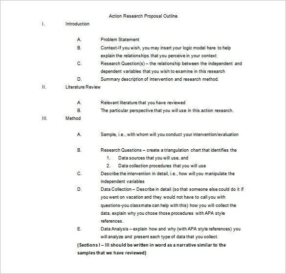 Essay Proposal Template Research Paper Outline Template – Free Word