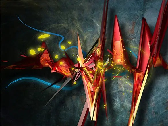 13 remarkable 3d abstract