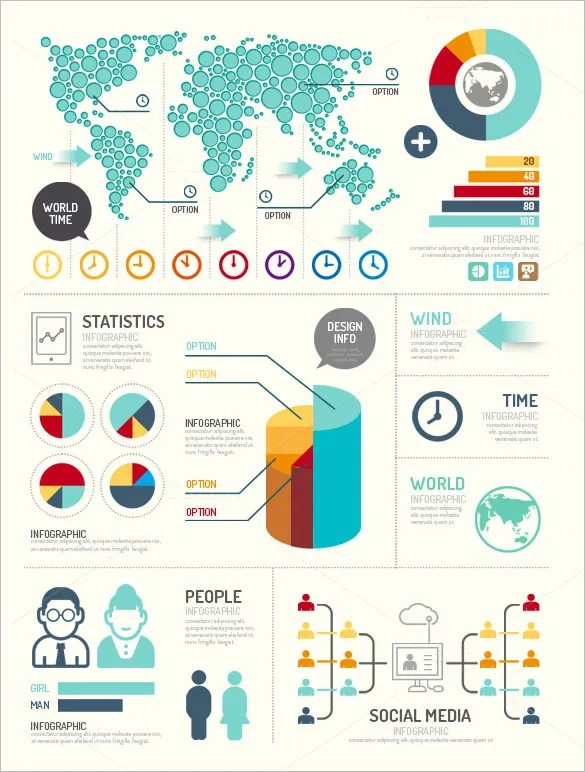 20 Great Examples Of Infographic Design Free & Premium