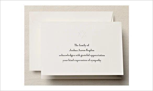 free memorial cards template