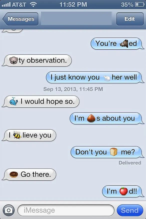 Cute Emoji Messages For Boyfriend All New Resume Examples
