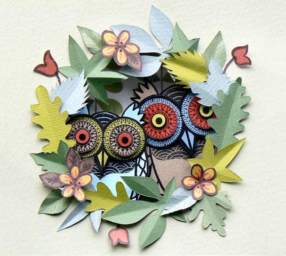 21+ Amazing Paper Art Examples  Free & Premium Templates