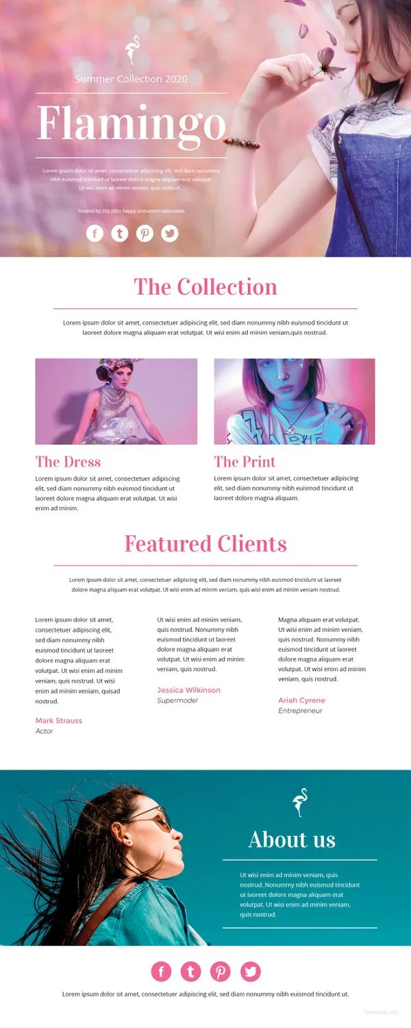 Fashion Email Newsletter Template