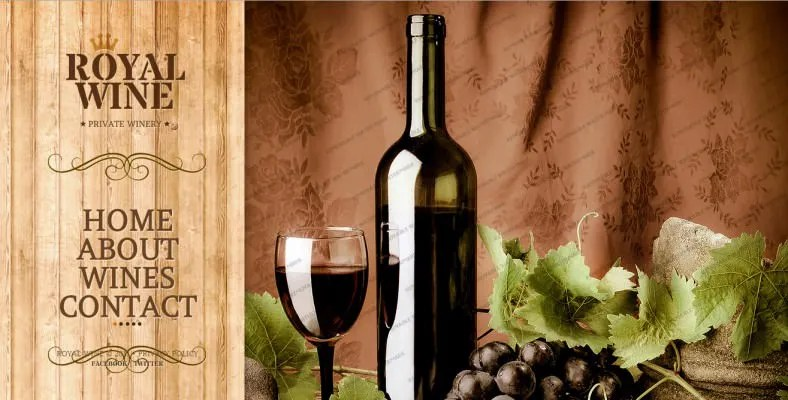 5 Wine Winery Website Templates  Themes  Free  Premium Templates