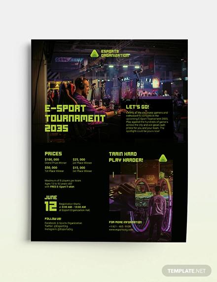 sports flyer templates psd word ai
