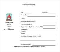 10+ Donation Receipt Templates - DOC, PDF | Free & Premium ...