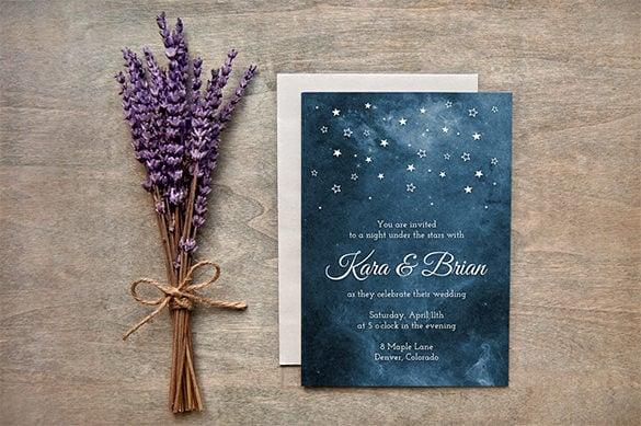 invitation card templates psd word