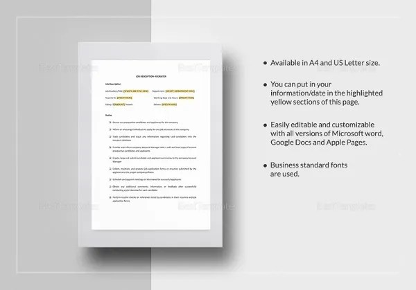 1020+ HR Templates & Forms – Free Word, Excel, PDF Documents ...