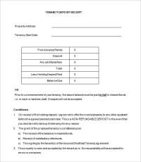 21+ Deposit Receipt Templates - DOC, PDF | Free & Premium ...