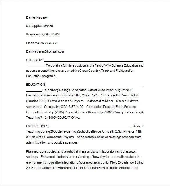 11+ Tutor Resume Templates - DOC, PDF | Free & Premium Templates