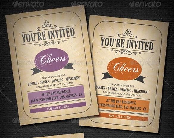 Free Invitation Cards Templates