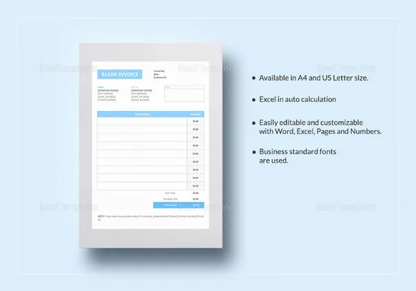 Hotel Invoice Templates - 15+ Free Word, Excel, PDF Format Download ...