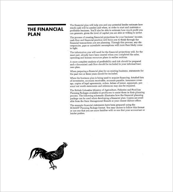 17 Farm Business Plan Templates  Word PDF Excel Google Docs Apple Pages  Free  Premium