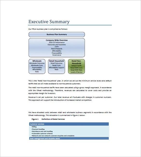 voorbeeld business plan retail pdf