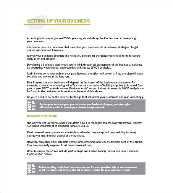 Business Plan Template Logistics Company | Curriculum Vitae