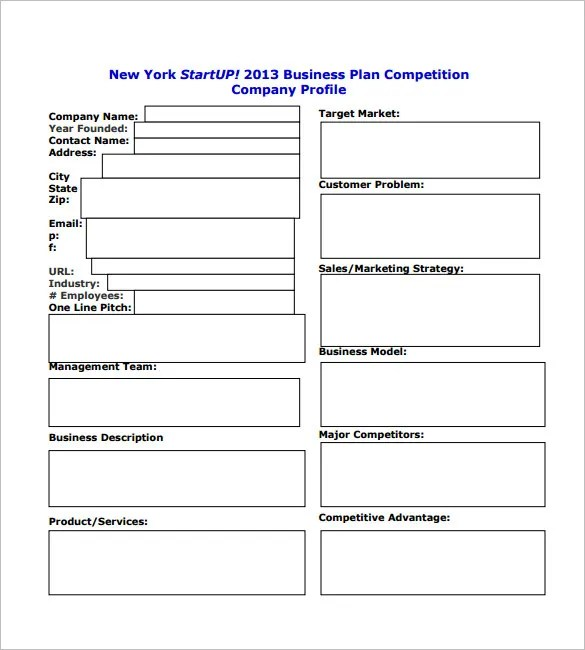 Startup Business Plan Templates - 11+ Free Word, PDF Documents ...