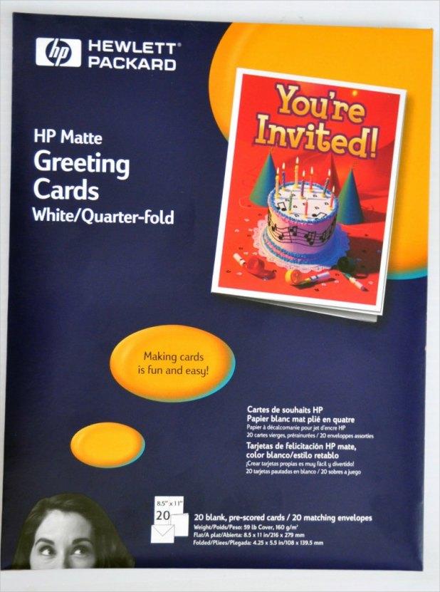 Hp greeting card quarter fold template giftsite quarter fold greeting cards keni candlecomfortzone com m4hsunfo