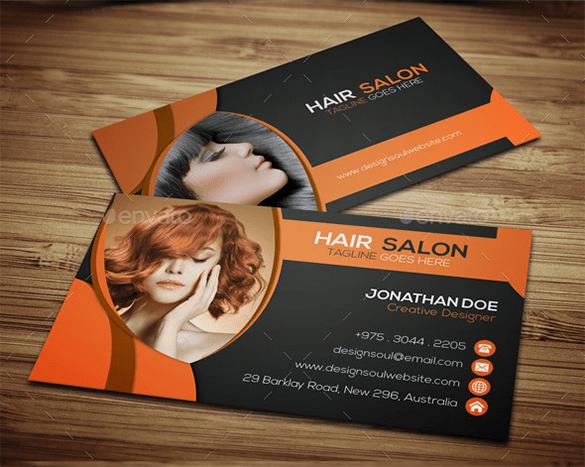 41 Hair Stylist Business Card Templates  AI PSD Word  Free  Premium Templates